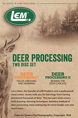Deer Processing DVD Set